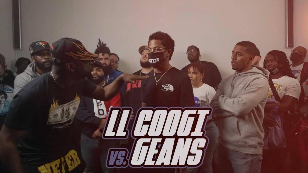 LL Coogi vs J Geans