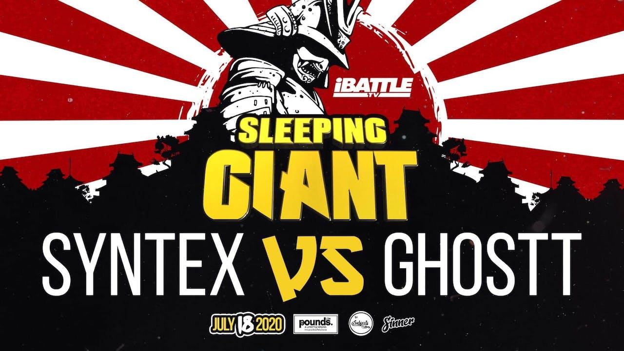 Syntex vs Ghostt