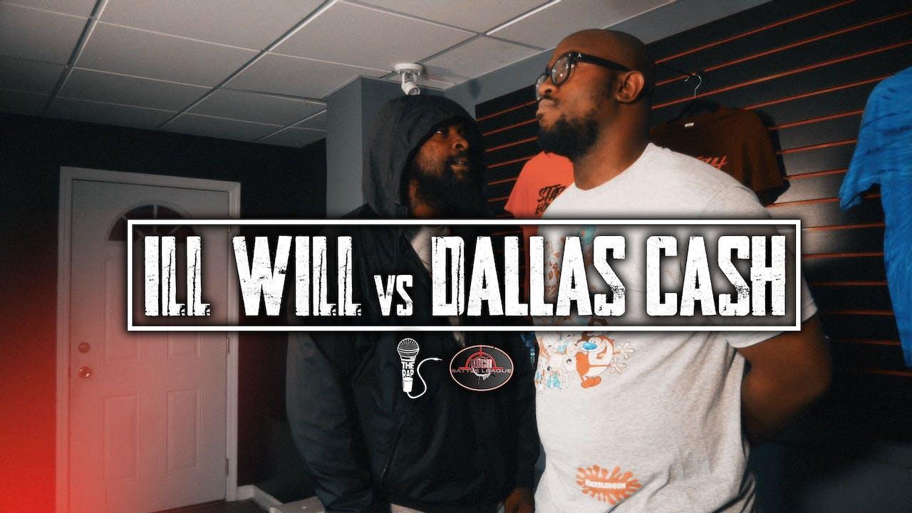 Ill Will vs Dallas Cash - The Rap Committee