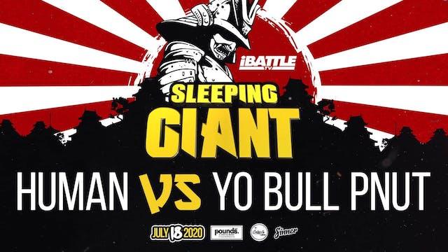 Human vs Yo Bull Pnut
