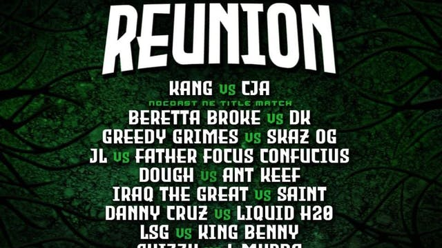 FAMILY REUNION 2/27 - ***FULL VOD***