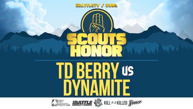 TD Berry vs Dynamite