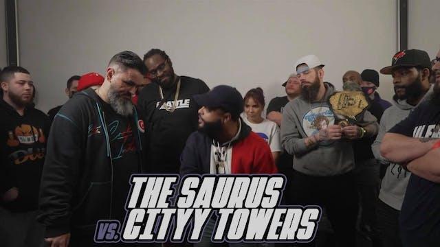 The Saurus vs Cityy Towers