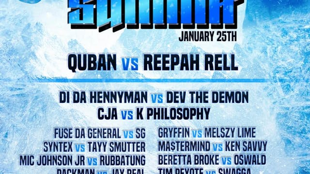 THE SUMMIT - SATURDAY 1/25 ***LIVE PPV***