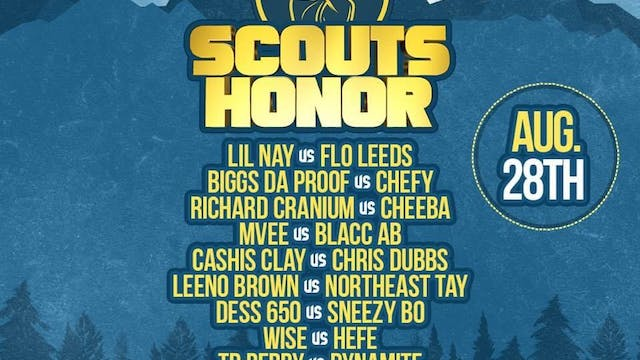 SCOUTS HONOR 8/28 PPV/VOD