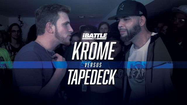 Krome vs Tapedeck