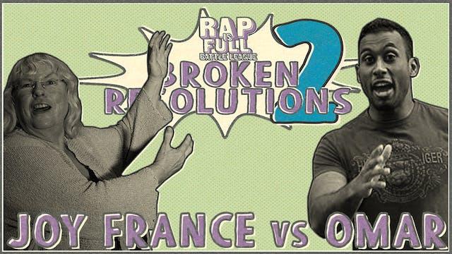 Joy France vs Omar