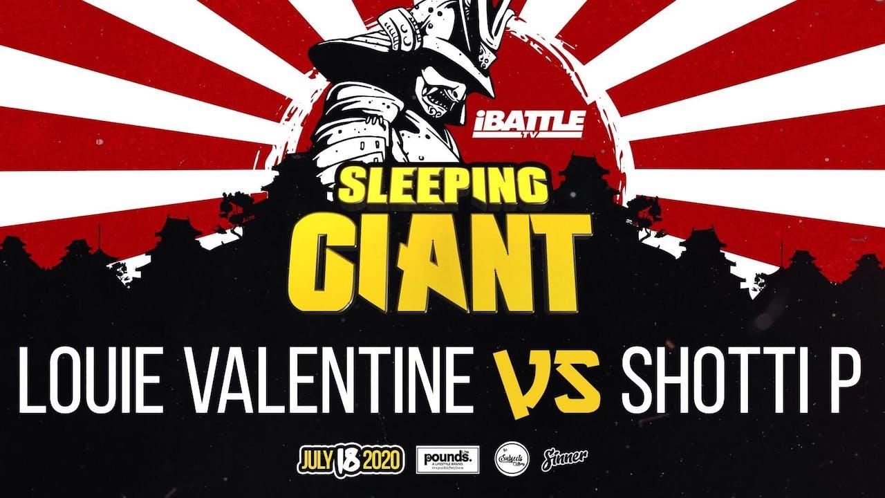 Louie Valentine vs Shotti P