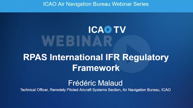 RPAS International IFR Regulatory Framework