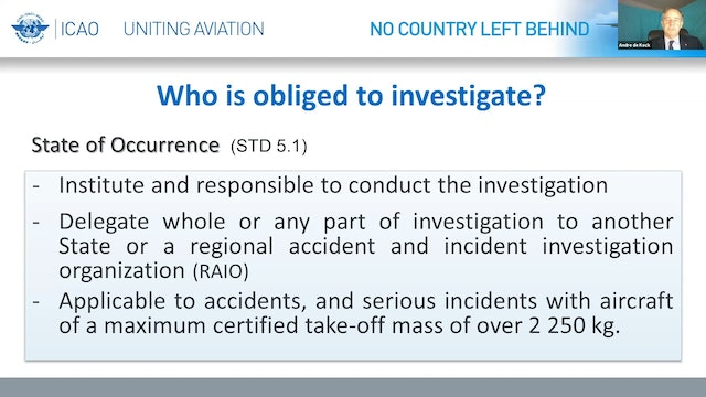 Aircraft Accident Investigations during the COVID-19 Pandemic