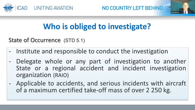 Aircraft Accident Investigations duri...