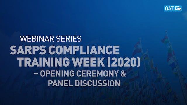 SARPs Compliance Training Week (2020)...
