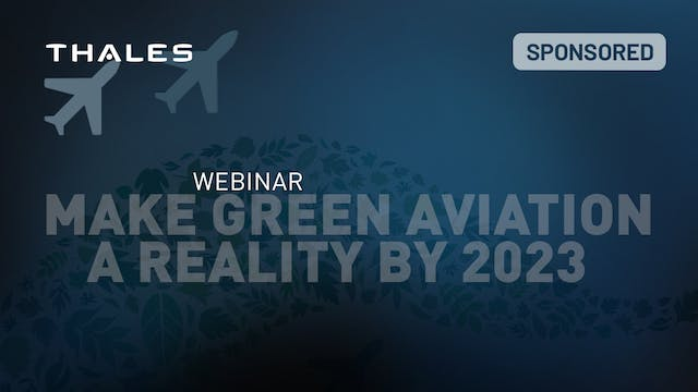 Make Green Aviation a Reality by 2023...