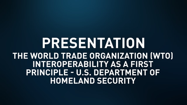 Interoperability as a First Principle - U.S. Department of Homeland Security