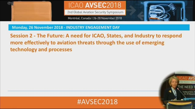 AVSEC2018 - Industry Engagement Day: Session 2 - The Future & SkyTalk 2