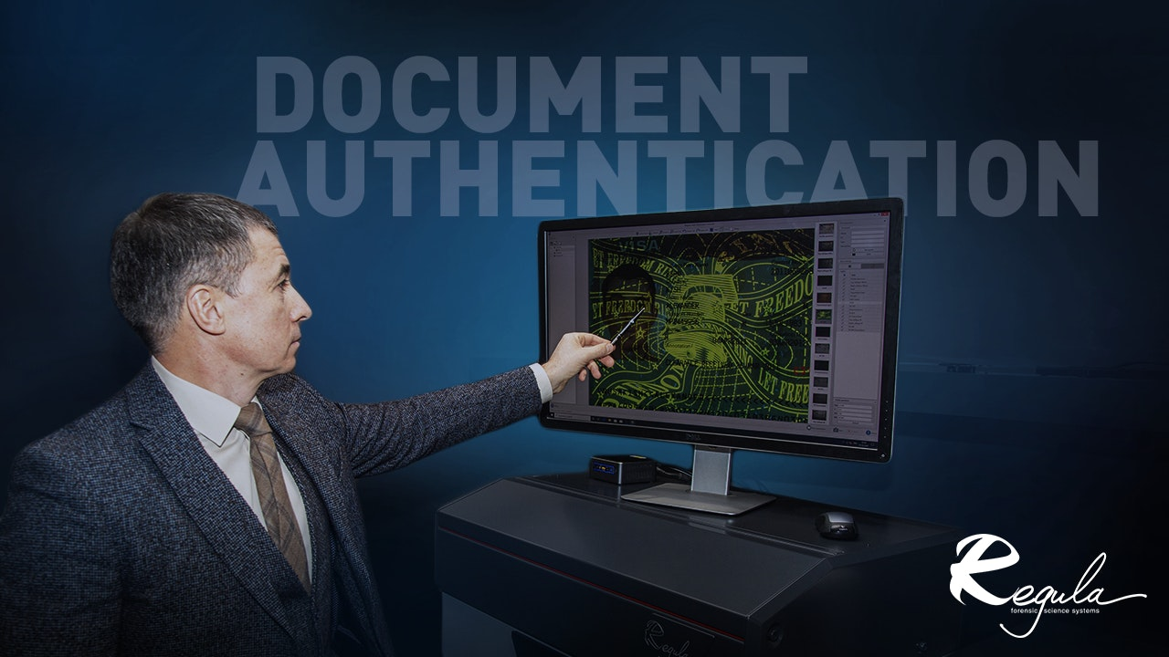 Document Authentication by Regula