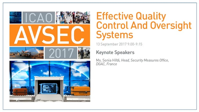 Effective Quality Control and Oversight Systems