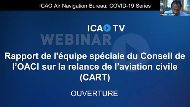 Report on the Council Aviation Recovery Task Force (CART) - French