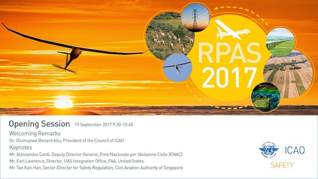 2017 Remotely Piloted Aircraft Systems Symposium (RPAS2017)