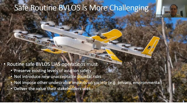 ​UAS Beyond Visual Line of Sight Oper...