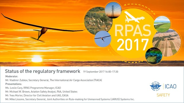 Status of the regulatory framework