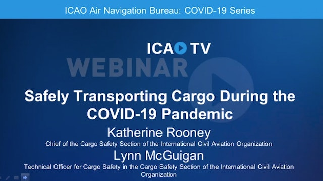 Safely Transporting Cargo during the COVID-19 Pandemic