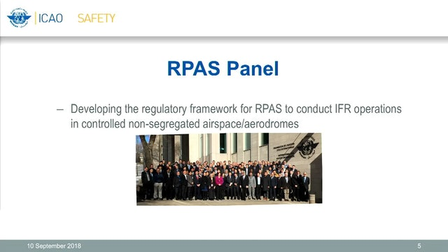 #RPAS3 - RPAS Regulatory Framework Standards development to implementation