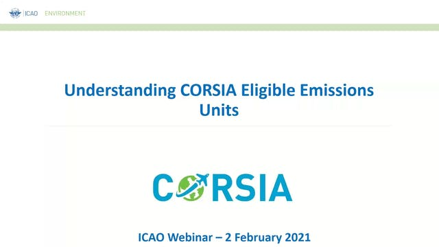 Understanding CORSIA Eligible Emissio...