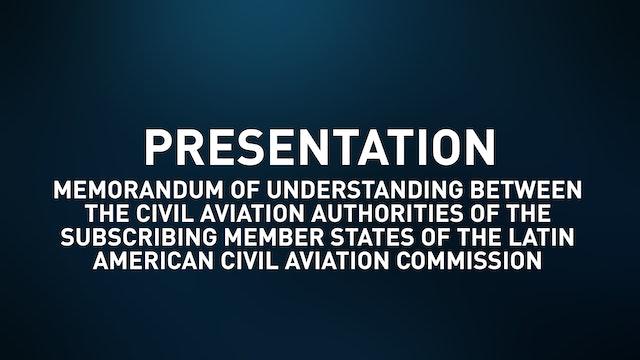 Memorandum of Understanding btw CAAS of the Subscribing Member States of LACAC
