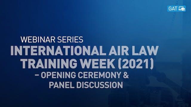 International Air Law Training Week –...