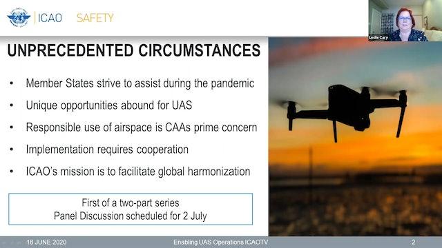 Enabling UAS Operations Part 1