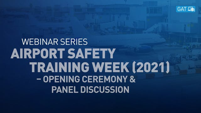 Airport Safety Training Week (2021) –...
