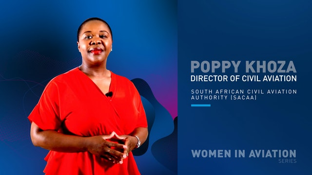 Poppy Khoza from SACAA
