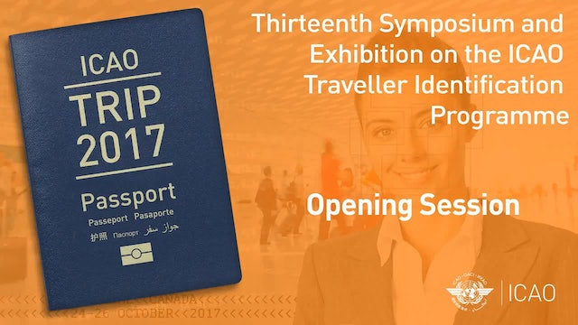 TRIP2017 - Opening Session