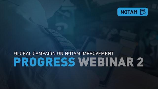NOTAM Progress Webinar 2