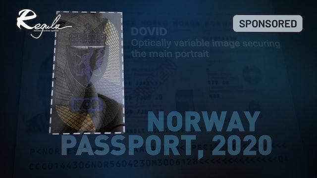 Norway passport, 2020