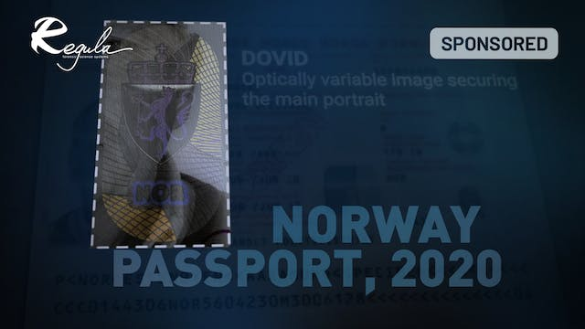 Norway passport, 2020