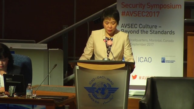 Opening Session of AVSEC 2017
