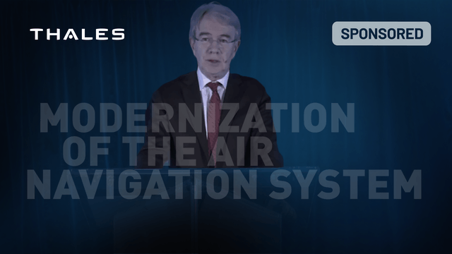 Modernization of the Air Navigation System by Thales