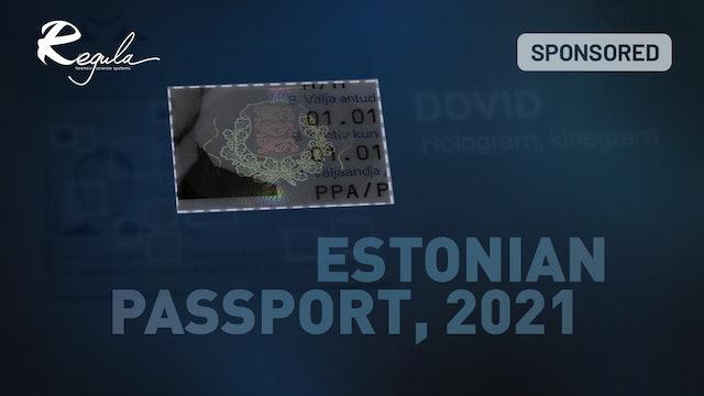 Estonian passport, 2021