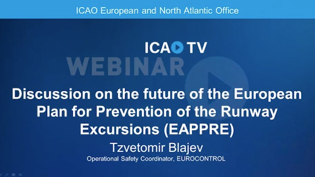 Future of the European Plan for Prevention of Runway Excursions (EAPPRE)