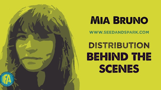 Mia Bruno of Seed&Spark