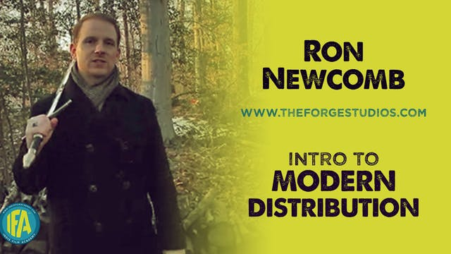 Ron Newcomb of The Forge Studios