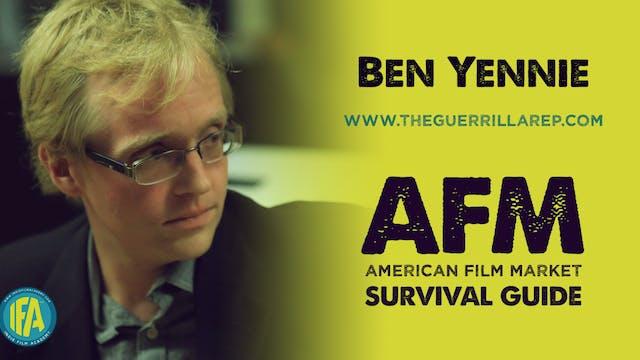 Ben Yennie of The Guerilla Rep