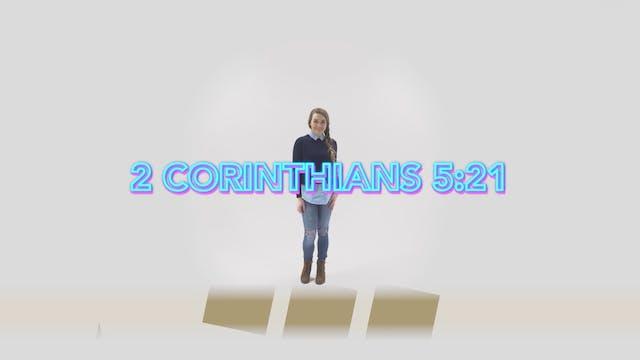 2 Corinthians 5:21 - Hand Motions