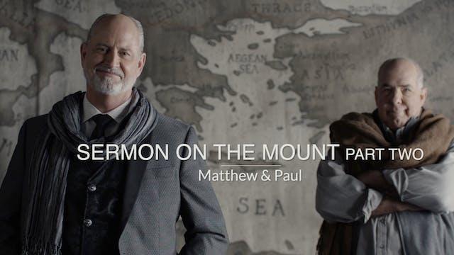 Sermon on the Mount - Part 2