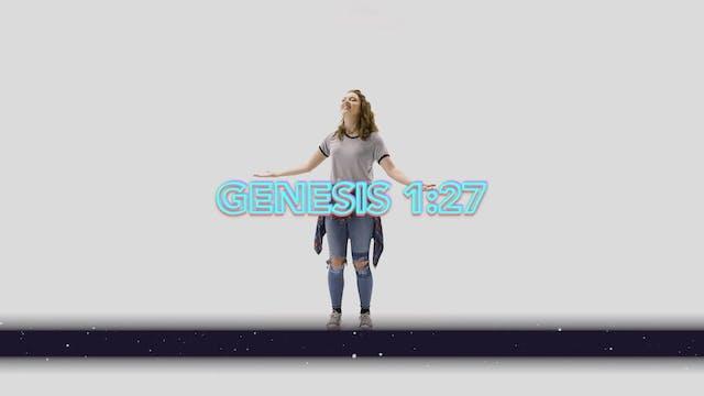 Genesis 1:27 - Hand Motions