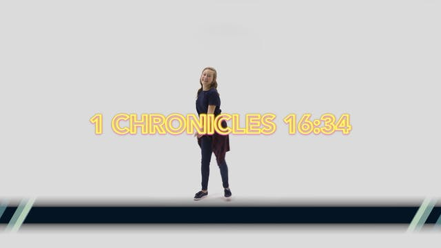 1 Chronicles 16:34 - Hand Motions