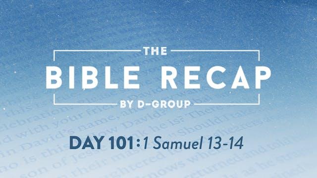 Day 101 (1 Samuel 13-14)