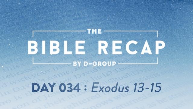Day 034 (Exodus 13-15)